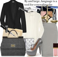 """""""lawyer"""" by manicurelover ❤ liked on Polyvore"""