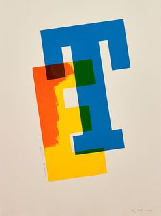 Tom Eckersley print by Alan Kitching | The Monotype Shop
