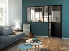 Bien choisir sa verrière d'atelier | Leroy Merlin #leroymerlin #verriere #salon…