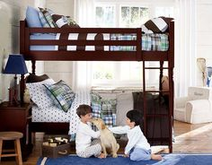 Pottery Barn Kids Madras & Rugby Bedroom