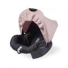 Zonnekapje Diamond knit vintage pink