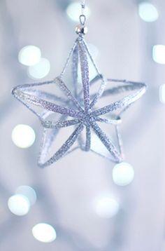 Star against pale blue