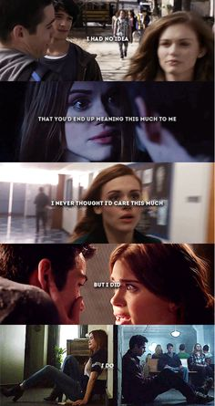 """I just hope it's not too late to tell you."" #Stydia #TeenWolf"