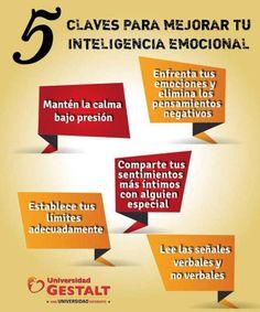 5 claves para mejorar tu inteligencia emocional #infografia #infographic