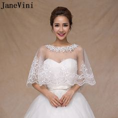 8f6a58a7fbf JaneVini 2018 Luxury Beaded Girl Bolero Dorado Lace Jackets for Wedding  Veste Mariage Sequined Mesh Wraps