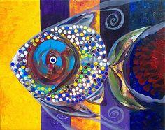 J Vincent Scarpace Art Themes, Inspiration Wall, Fish Art, Natural Forms, Art Boards, Modern Art, Original Art, Abstract Art, Illustration Art