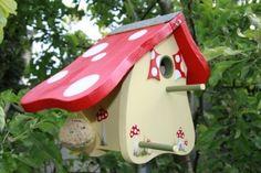 Vogelhaus/Nistkasten: Kleiner Fliegenpilz