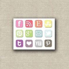 Social Media Buttons for your blog!