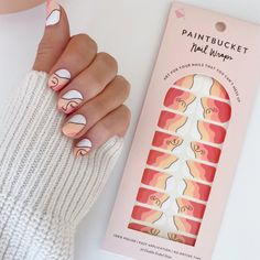 Say goodbye to smudging and dry-time with our 100% polish nail wraps. So simple, you won't stress applying it yourself. Go on, you talented artist, you... Cute Acrylic Nails, Gel Nails, Manicure, Nail Polish, Best Rap Songs, Cotton Swab, Chic Nails, Nail Wraps, Perfect Nails