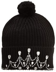 Markus Lupfer Knitted Tiara Beanie on shopstyle.com