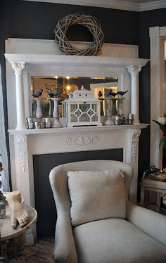 Great way to add to your fireplace:)