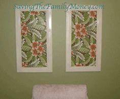 Kitchen Cabinet Doors ~Turned Decorative Magnetic Bulletin Boards via SavingTheFamilyMoney.com