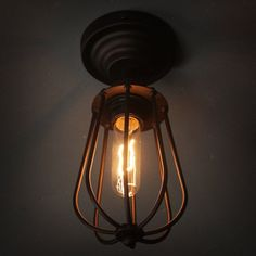 Lampshade material: iron   Process: baking finish   Applicable light source: incandescent lamps, energy-saving lamps, LED lights   Suggested room fit: bathroom, corridor, dining room, hallway, study, courtyard, bedroom, balcony, porch, etc   Lamp holder SPEC: E27   Voltage: 110-220v   Product size: 12*12*30cm(4.8*4.8*12in)   Illumination area : 5-10 square meters   Product weight: 450g   Package weight: 600g     Package: . | eBay!