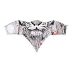 Airhole Womens Snowboarding Standard 1 Facemask Snow Tiger