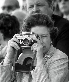 Her majesty is now a professional photographer, or was a professional photographer before she became the Queen of England.