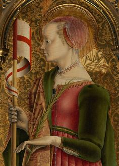 Raffaellino del Garbo - Bust of a Young Woman c. 1485-1490. Museum of Fine Arts, Houston.