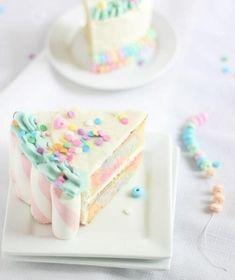 Paddlepop rainbow cake