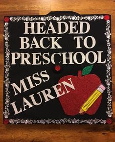Early Childhood Education Graduation Cap - Decoration For Home
