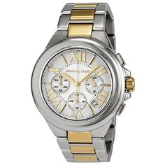 Best Buy Michael Kors Womens MK5653 Camille Silver and Gold Tone Stainless Steel Watch at http://get.nazuka.net/review/product.php?asin=B0085F7G8Q