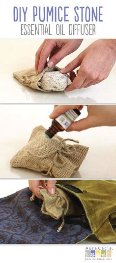 Introducing the diffuser for the DIY enthusiast: the pumice stone. Find the how-to here.
