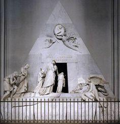 Monumento funebre di Maria Cristina d'Austria; Antonio Canova; marmo scolpito; 1798-1805; Augustinerkirche, Vienna, Austria.