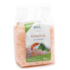 Biova Gourmetsalz Kristallsalz* Granulat aus Pakistan 2x1…