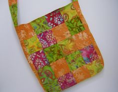 Hippie patchwork tote by 1treeyoga on Etsy, $25.00