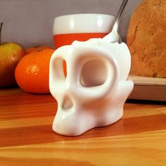 Fancy - Monkey Skull Egg Cup