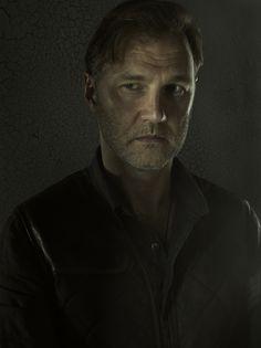 The Walking Dead Season 3 Portraits, The Governor