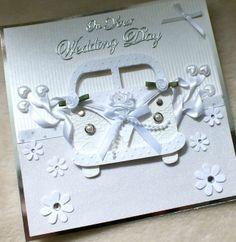 Luxury Handmade 3D Wedding VW Style Campervan Card, £5.50