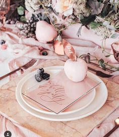 24 Ideas Wedding Fall Reception Table Settings For 2019 Reception Table, Wedding Reception, Centerpiece Christmas, Decoration Evenementielle, Beautiful Decoration, Copper And Marble, Pink Table, Deco Floral, Floral Design