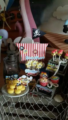 Pirate Minion Party by Dreamsflavours Celebration Party & Favours