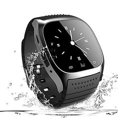 Smart Watch Bluetooth Smartwatch Phone Touch Screen Smart Wrist Watch Sport Fitness Tracker Pedometer Sleep Monitor All Functions Match for IOS iPhone Plus 7 8 and Android Smart Phones Men Women - Killa Deals Best Smart Watches, Cool Watches, Watches For Men, Latest Watches, Fitness Trackers For Women, Fitness Watches For Women, Wrist Watch Phone, Wearable Technology, Sport Watches