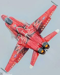 Hot Canadian CF-188 paint scheme