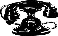 The Graphics Fairy: telephone