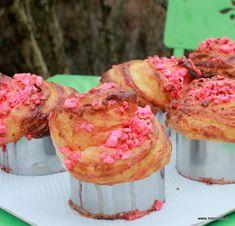 Brioche feuilletée pralines roses