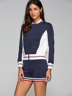 SHARE & Get it FREE | Active Shorts and Baseball Jacket SetFor Fashion Lovers only:80,000+ Items • New Arrivals Daily Join Zaful: Get YOUR $50 NOW!