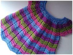 Vestido de bebita a crochet muy fácil  #tutorial #DIY