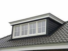 shared by www. Loft Dormer, Dormer House, Dormer Roof, Dormer Windows, Vaulted Living Rooms, Attic Master Bedroom, House Cladding, House Extension Design, Clerestory Windows