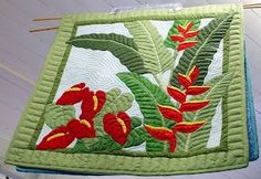 I would like to watch the Hawaiian quilters on my dream vacation.