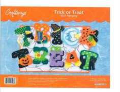 TRICK OR TREAT 1/6.  FREE GRAPH 9/14.