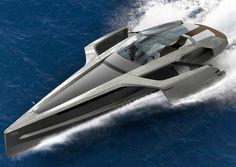 Yachts de luxe : les concepts les plus fous audi trimaran