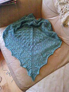 Ravelry: Chalice Shawl pattern by Marga Frances-Perez