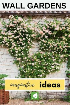 Lawn and Garden Tools Basics If You Live In The City, Or On A Small Piece Of Land, You Have To Get Creative With Your Limited Outdoor Space. This Is Where Wall Gardens Can Really Pay Off. 15 Imaginative Wall Garden Ideas For The Uninspired Small Backyard Patio, Backyard Landscaping, Landscaping Ideas, Backyard Seating, Outdoor Plants, Outdoor Gardens, Outdoor Pergola, Garden Plants, Garden Inspiration