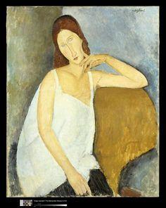 Jeanne Hébuterne, 1919, Modigliani Amedeo (1884-1920) Réunion des Musées Nationaux-Grand Palais -