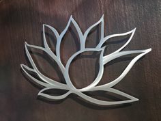 Lotus Flower Metal Wall Art - Lotus Metal Art - May's office