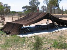 Traditional bedouin tent by TimoOK, via Flickr