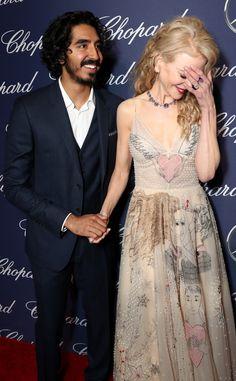 Dev Patel & Nicole Kidman  an LOL moment at the Palm Springs International Film Festival.