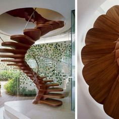 Stairs.  i would totally fall off them.