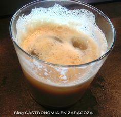 Refrescando la tarde con este exquisito Cafe con Leche mas Hielo